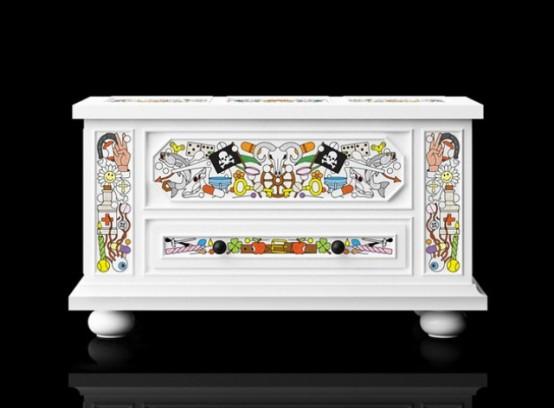 Moooi представляет необычную коллекцию мебели
