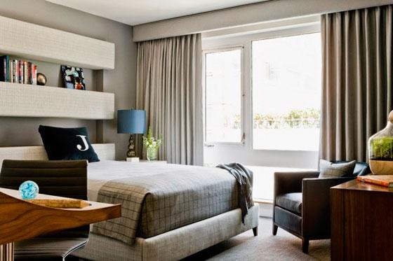 Und Die Ideen Demonstrieren Präsentiert, Wie Ein Mann Das Schlafzimmer Zu  Machen, Interessant, Komfortabel Und Gemütlich.