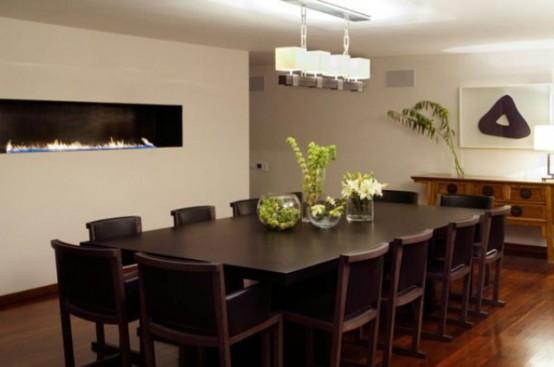 Столовая комната в мужском стиле: 30 фото