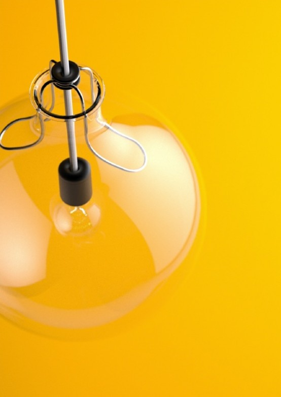 Чистый минимализм в дизайне освещения