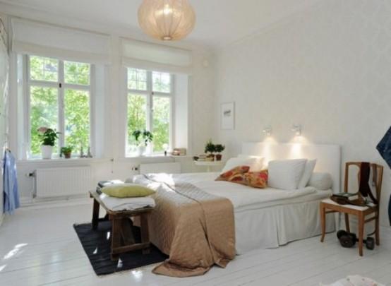 дизайнерские решения для интерьера спальни