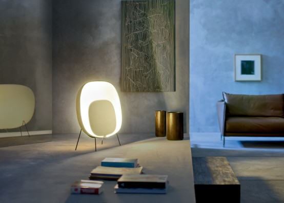 Оригинальная лампа от Luca Nichetto