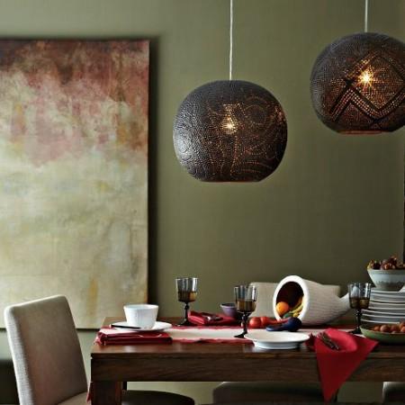 20 идей дизайна столовой в марокканском стиле
