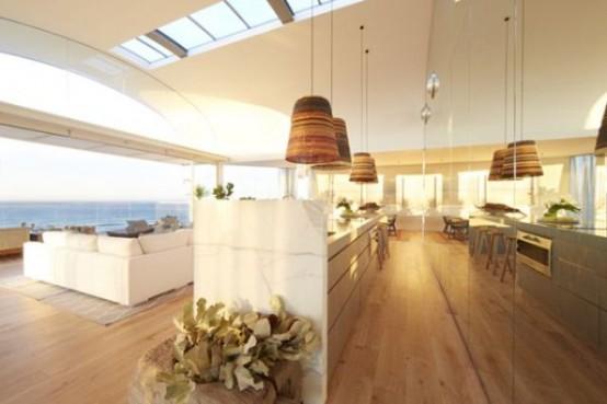 Роскошный пентхаус с террасой на крыше