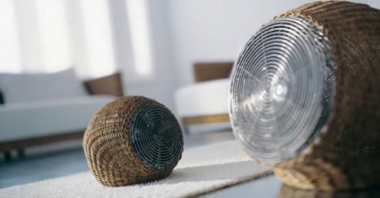 Wind S – элегантные напольные вентиляторы