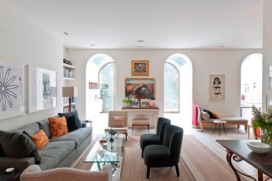 Дизайн и интерьер зала в частном доме: фотоподборка, идеи и советы
