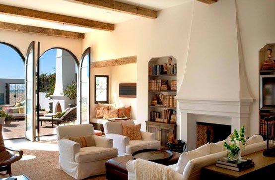 Дизайн и интерьер зала в частном доме