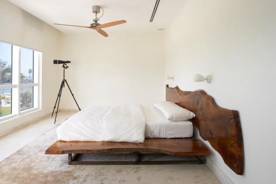 интерьер спальни в таунхаусе