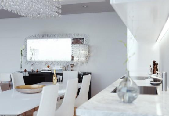Eduard Caliman и его вариант интерьера гостиной комнаты