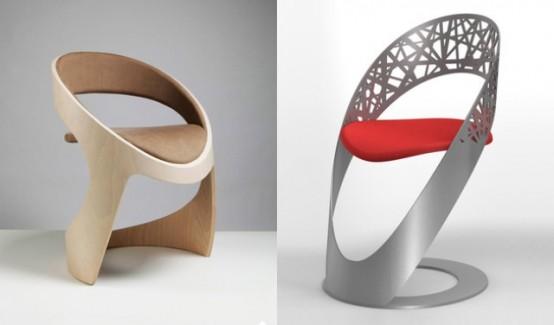 Коллекция стульев от французов из Martz Edition