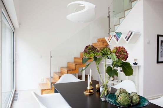 Просторный шведский особняк: природа в центре города