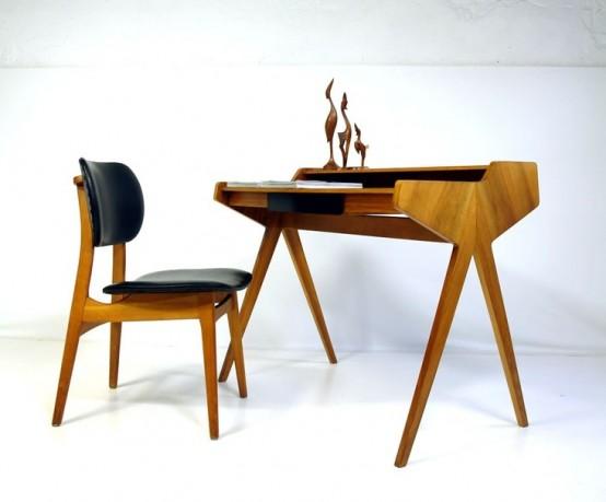 Средневековый стиль в современном исполнении: столы
