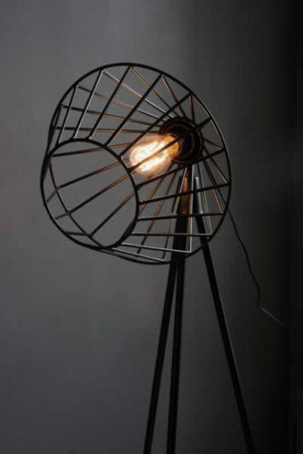 Светильники в промышленном стиле: 30 фото