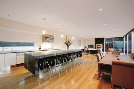 3-х ярусный современный дом в Австралии