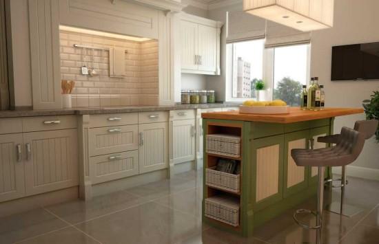 Ода изяществу: современная кухня в стиле прованс