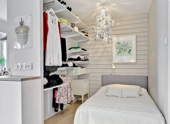 Дизайн узкой спальни – приговор или новая возможность