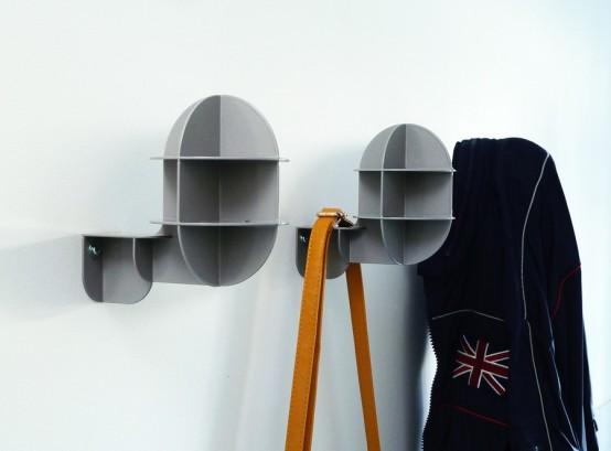 Battleship: крючки для одежды необычной формы