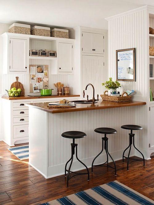 Деревянные кухонные столешницы: 50 фото
