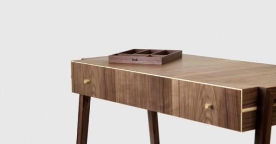 Young & Norgate: коллекция мебели из грецкого ореха