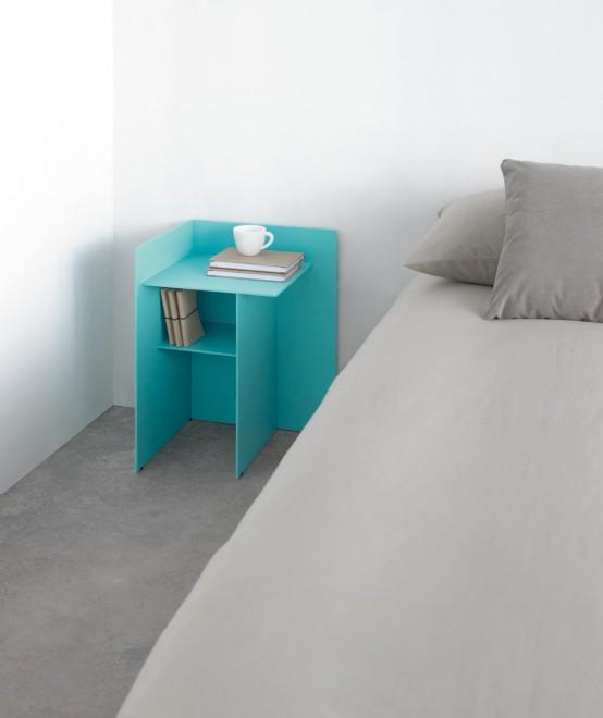 Judd: красочный стол от Nathan Yong