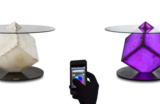 Контроль цвета с помощью Wi-Fi