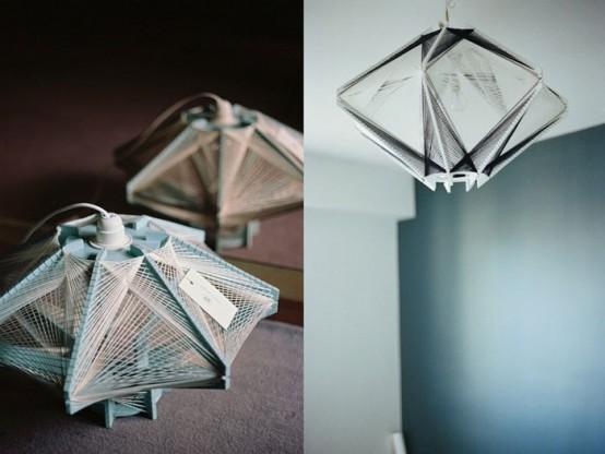 Светильники в форме спутника