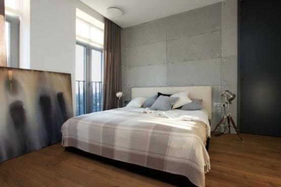 Эклектичные апартаменты с «зелеными» стенами 8
