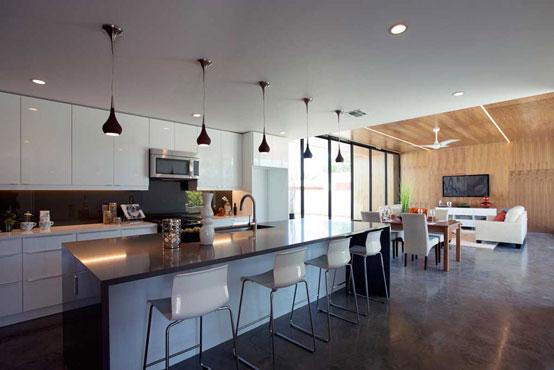 Современный одноэтажный дом в Аризоне