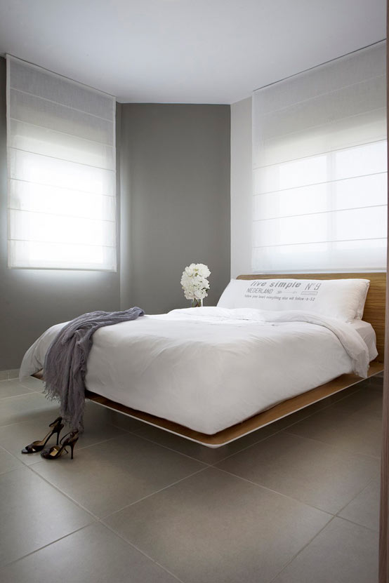 Апартаменты для молодой пары в Израиле: спальная