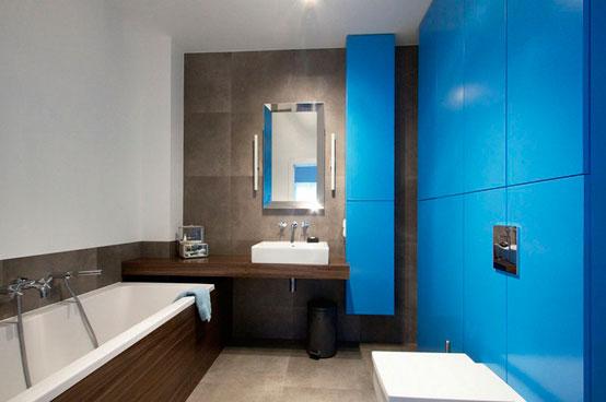 Апартаменты площадью 150 квадратных метров в Варшаве ванная 2