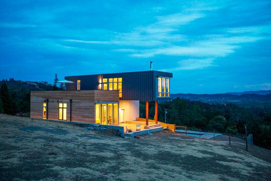 Изумительный дом на Сономских холмах