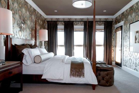 Как выбрать обои для спальни: цветовая палитра