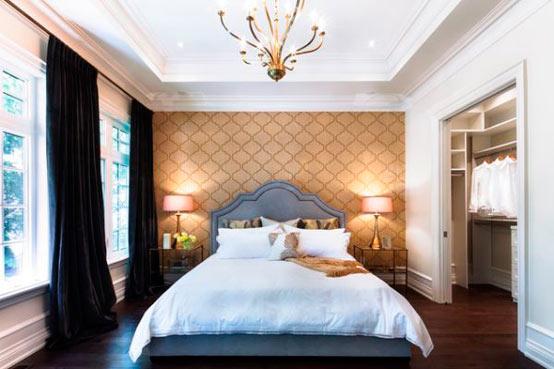 Как выбрать обои для спальни: обои