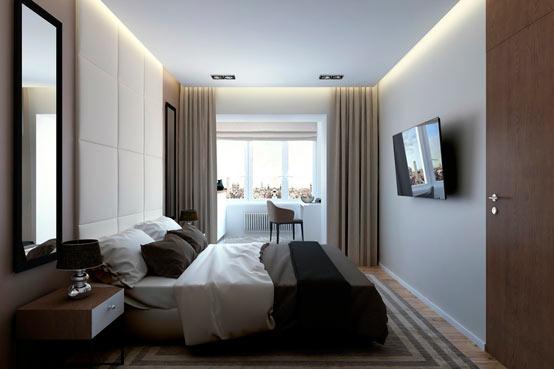 Квартира с открытой планировкой в Санкт-Петербурге