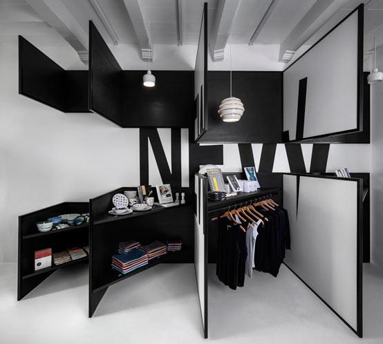 Не только у медали две стороны: дизайн магазина в Амстердаме