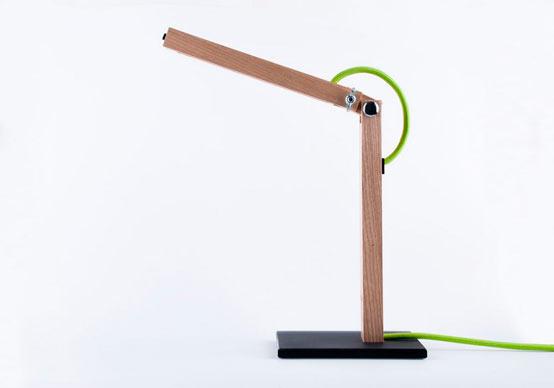 T2: Настольная USB лампа