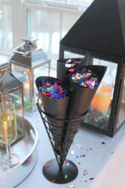 Декор для новогодней вечеринки: 28 фото