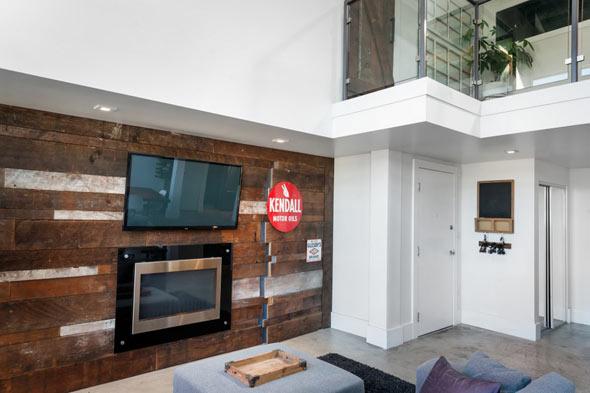 Двухэтажный лофт в Ванкувере