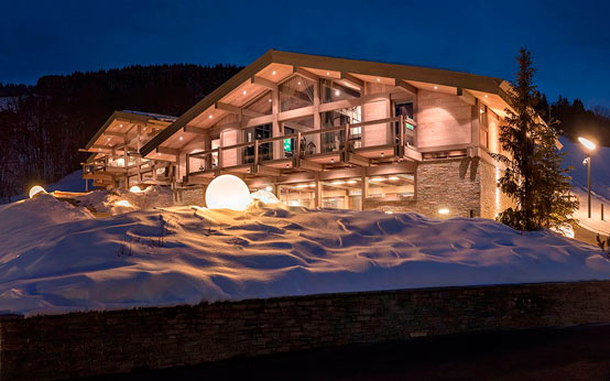 Шале Mont Blanc: богатый дом отдыха в Альпах