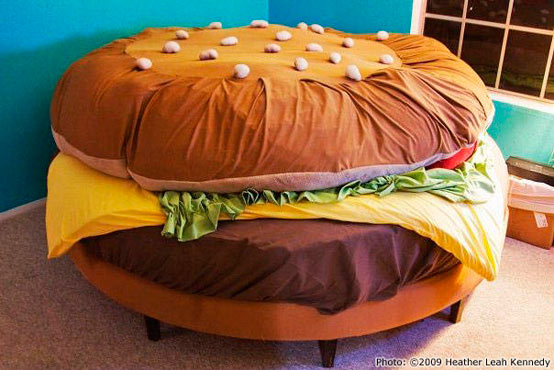 The Hamburger Bed