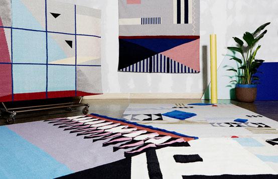 Коллекция ковров от студий Aelfie и Studioproba