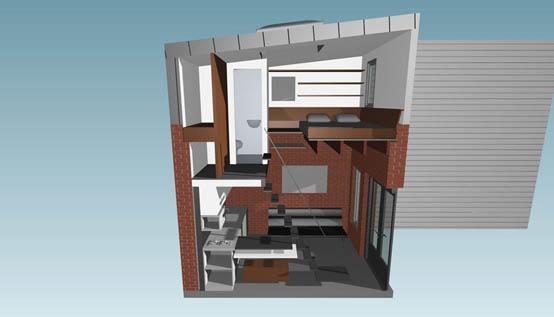 Гостевой дом в Калифорнии (9 кв. м)