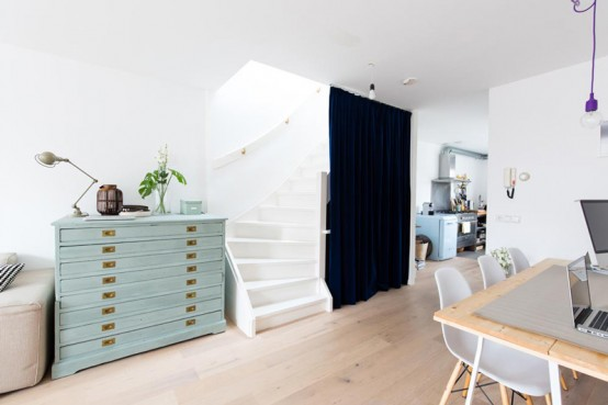 Просторная голландская квартира в скандинавском стиле