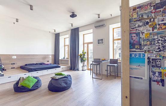 Идеи интерьера для однокомнатной квартиры: советы и рекомендации