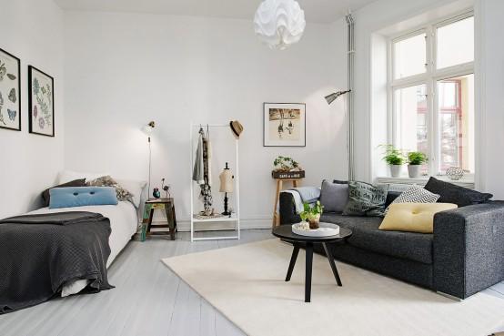 Идеи интерьера однокомнатной квартиры: советы и рекомендации