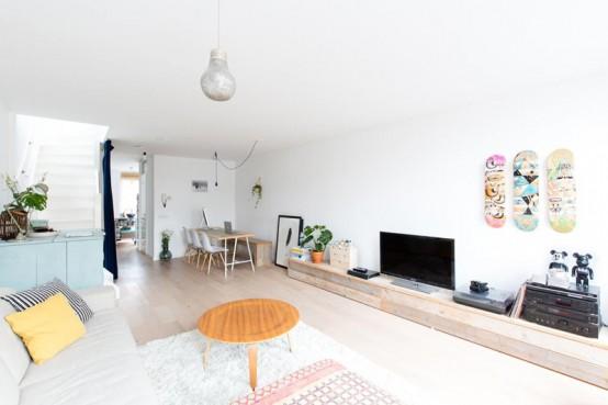 идеи интерьера однокомнатной квартиры