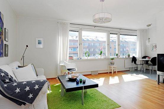 идеи дизайна интерьера для однокомнатной квартиры
