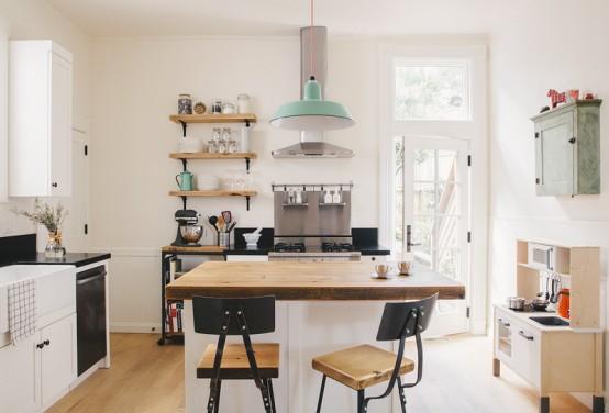 Просторная кухня от Senalee Kapelevich