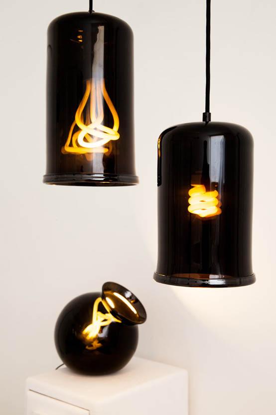 «Темные» светильники от студии Young & Battaglia