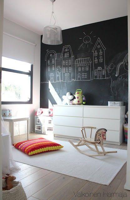 Интерьер детской в скандинавском стиле: 31 фото